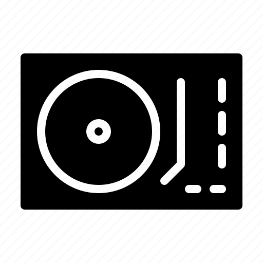 club, dj, music, party, turntable icon