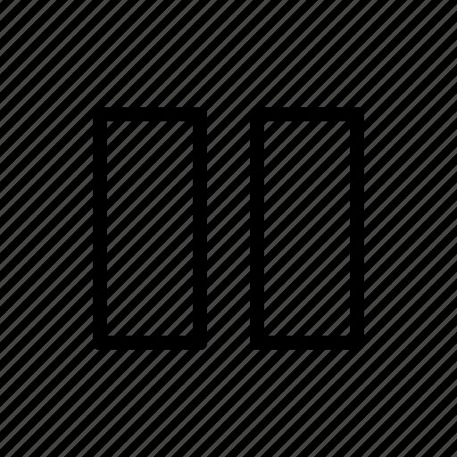 club, dj, music, party, pause icon