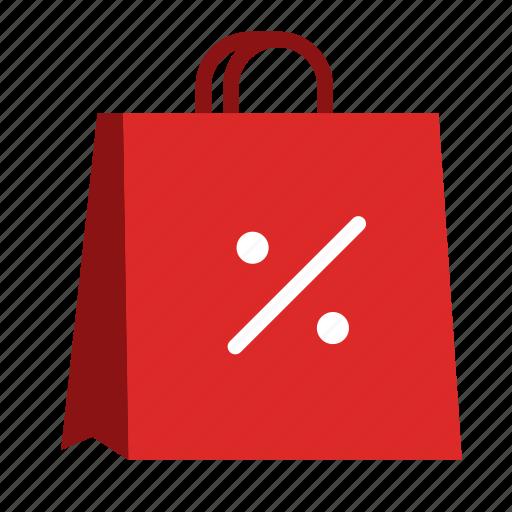 bag, discount, price, promotiom, sale, shopping icon