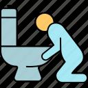 belly disease, emesis, gastroenterology, stomach disease, vomiting icon