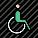 disable, handicap, medical, patient, wheelchair