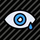 drop, eye, healthcare, infection, medical