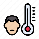 healthcare, medical, patient, temperature, thermometer