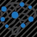 brainstorm, brainstorming, neuroscience icon