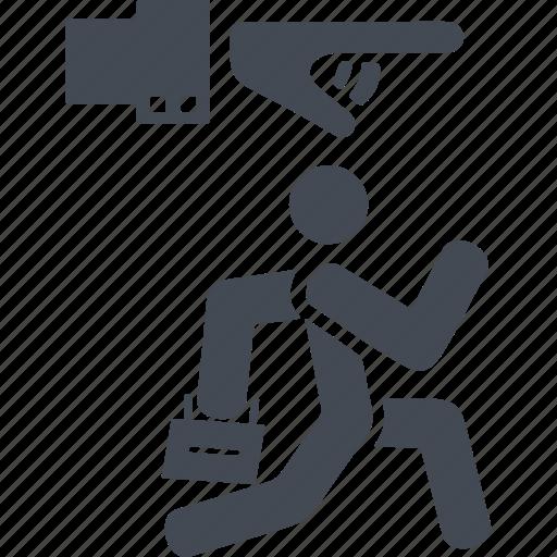 discrimination, dismissal, resignation, sacking icon