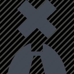 ban, dismissal, no, stop icon