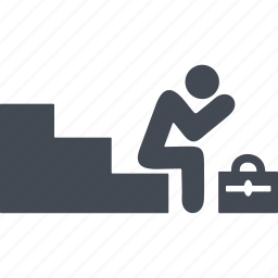 discrimination, dismissal, quit, sacking icon