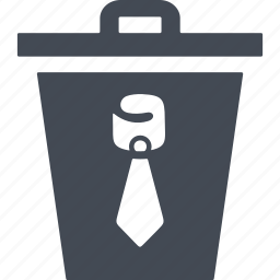 delete, dismissal, trash, trash can icon
