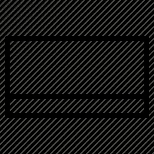 application, bar, dashboard, task, window icon