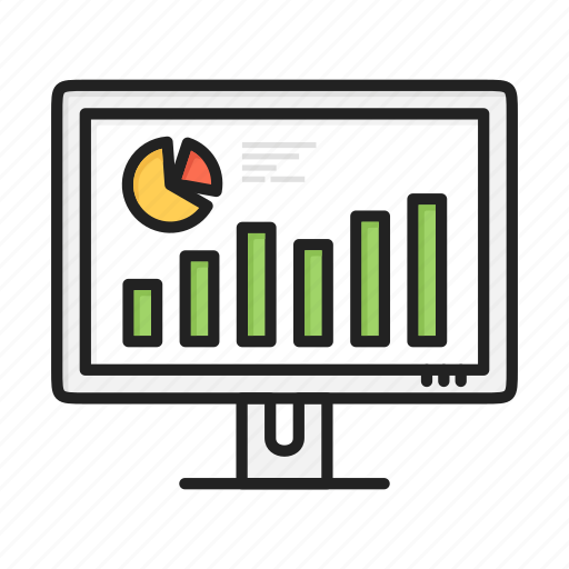 chart, diagram, graph, increase, marketing, pie, statistics icon