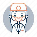 avatar, dentist, diversity, female, girl, people, profession icon