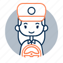 avatar, diversity, driver, female, girl, people, profession
