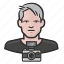 male, man, photographer icon