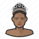 african, pageant, princess, royalty, tiara, woman