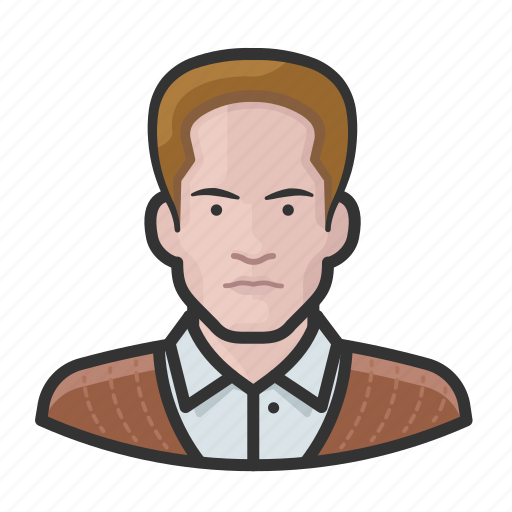 Avatar, man, red hair, user icon - Download on Iconfinder