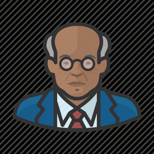 African, avatar, elderly, old man, user icon - Download on Iconfinder