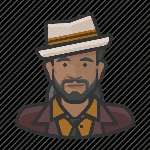 Avatar, jazz, male, musician, user icon - Download on Iconfinder