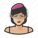 asian, avatar, female, jazz, singer, user, woman icon