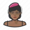 avatar, female, jazz, singer, user, woman icon
