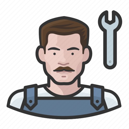 Avatar, male, man, mechanic, user icon - Download on Iconfinder