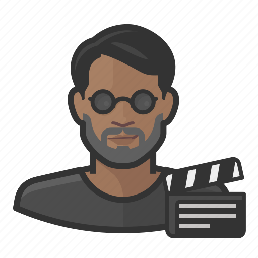 Asian, avatar, director, male, man, movie, user icon - Download on Iconfinder