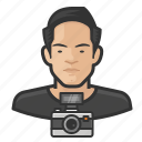 asian, avatar, male, man, photographer, user icon