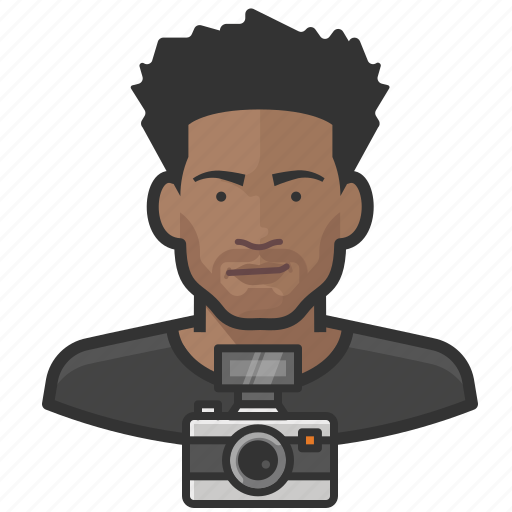 Avatar, male, man, photographer, user icon - Download on Iconfinder
