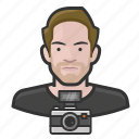 avatar, male, man, photographer, user icon