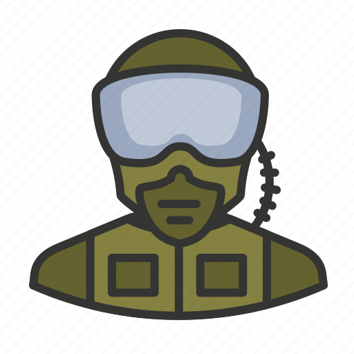 Avatar, military, pilot, soldier, user icon - Download on Iconfinder