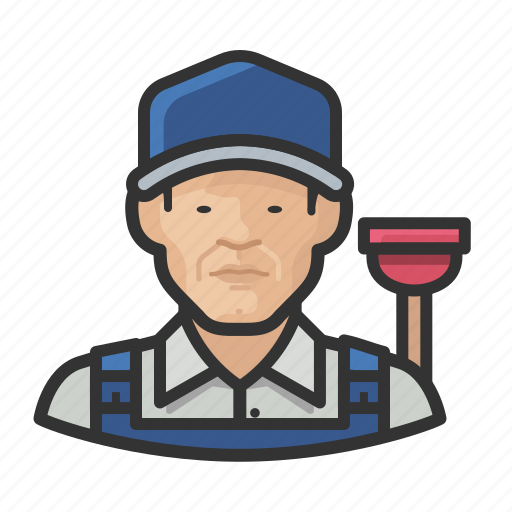 Asian, avatar, male, man, plumber, user icon - Download on Iconfinder