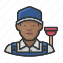 avatar, male, man, plumber, user icon