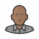 avatar, male, man, old man, senior, user icon