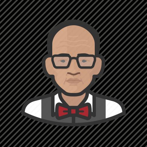 asian, avatar, male, man, senior, user icon