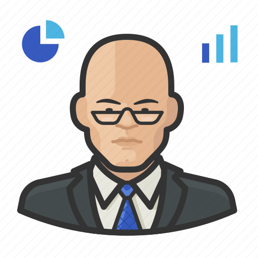Analyst, asian, male, stock icon - Download on Iconfinder