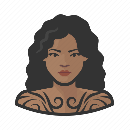 Avatar, female, tattooed, user, woman icon - Download on Iconfinder
