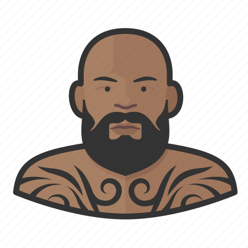 Avatar, male, man, tattooed, user icon - Download on Iconfinder
