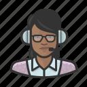 announcer, avatar, female, user, woman