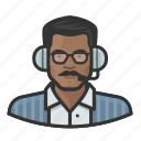 announcer, avatar, male, man, user icon