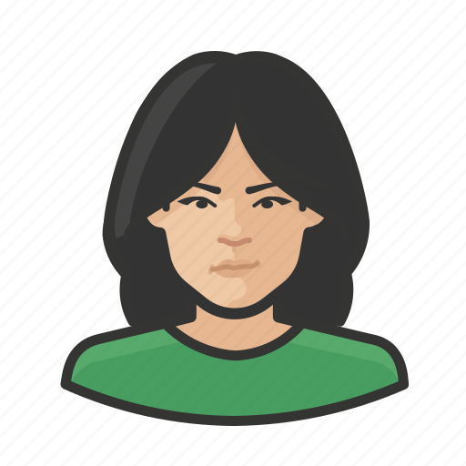 Asian, avatar, user, woman icon - Download on Iconfinder