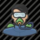asian, avatar, male, scuba, scuba diving, user