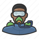 avatar, male, man, scuba, scuba diving, user
