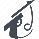diving, gun, harpoon, speargun icon