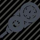 diving, depth gauge, measurement, soundings icon