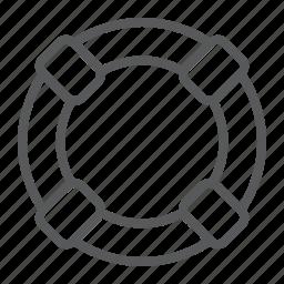 circle, emergency, help, life, lifebuoy, lifeguard, sos icon