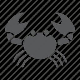 animal, aquatic, crab, nature, ocen, sea, underwater icon