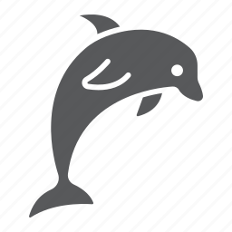 animal, aquatic, dolphin, fish, nature, ocen, underwater icon