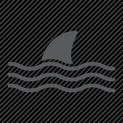 Animal, attack, dangerous, fish, ocean, shark, underwater icon - Download on Iconfinder
