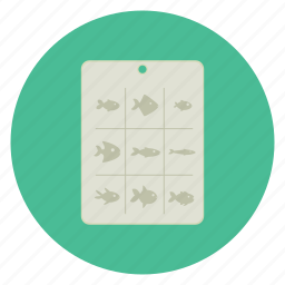 chart, dive, diving, equipment, fish, ocean, sea icon