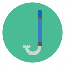 dive, diving, equipment, ovean, sea, snorkle icon