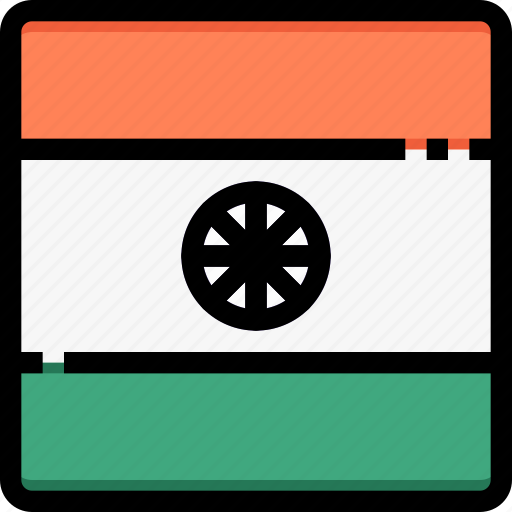 Country, flag, india, nation, world icon - Download on Iconfinder